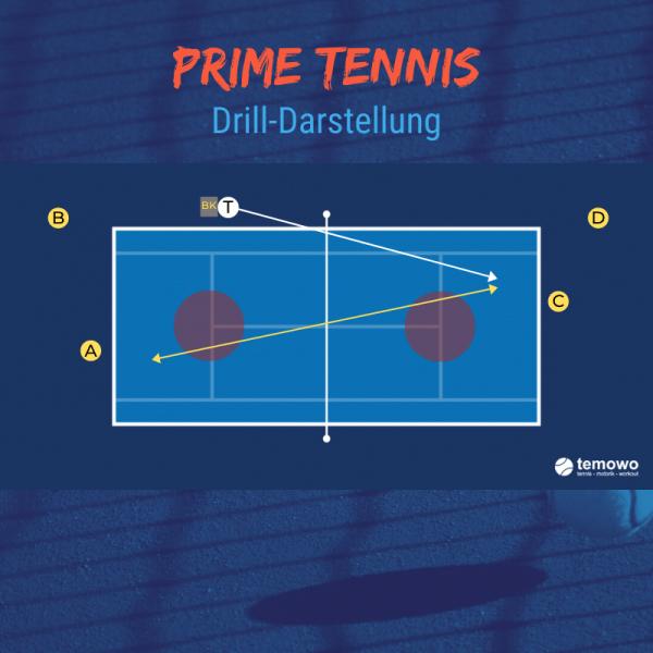 Shop temowo Prime Tennis Drilldarstellung