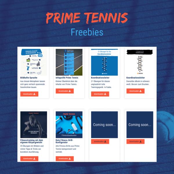 Shop temowo Prime Tennis Freebies