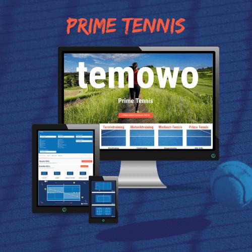 Shop temowo Pime Tennis