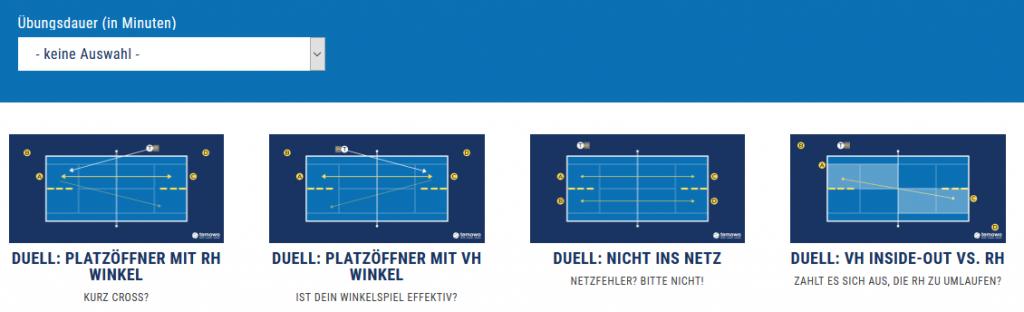 Drills aus Prime Tennis