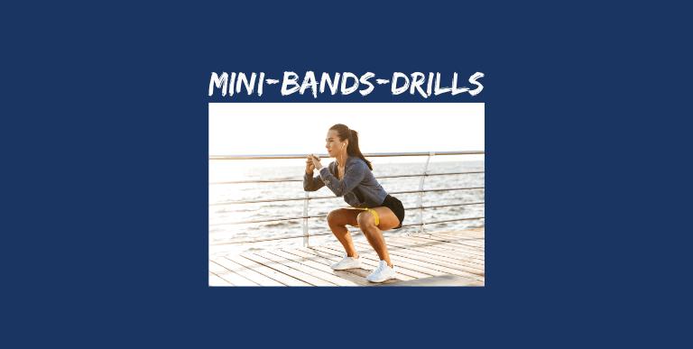 Tennis-Fitness Mini-Bands-Drills