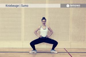 Prime Tennis Kräftigungsdrill Sumo Kniebeuge