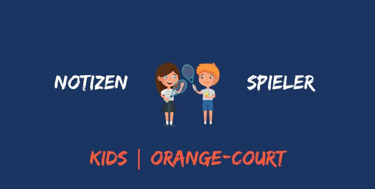 Notizen Spieler Orangecourt