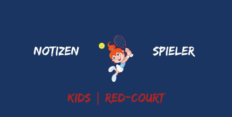 Notizen Spieler Kids Redcourt