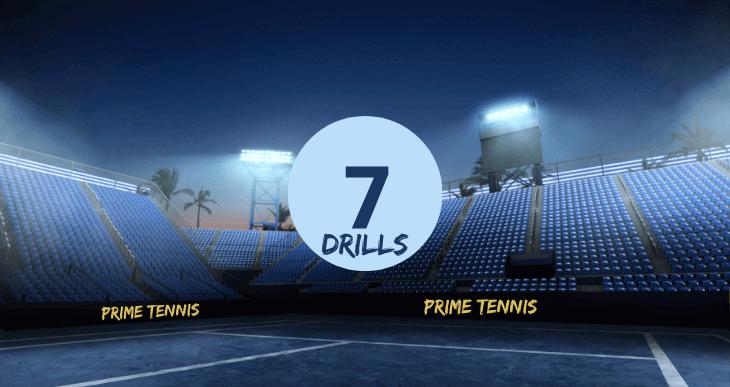 Blog 7 Drills Tennistraining