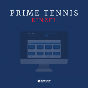 digitaler Tennistrainer Einzellizenz Prime Tennis