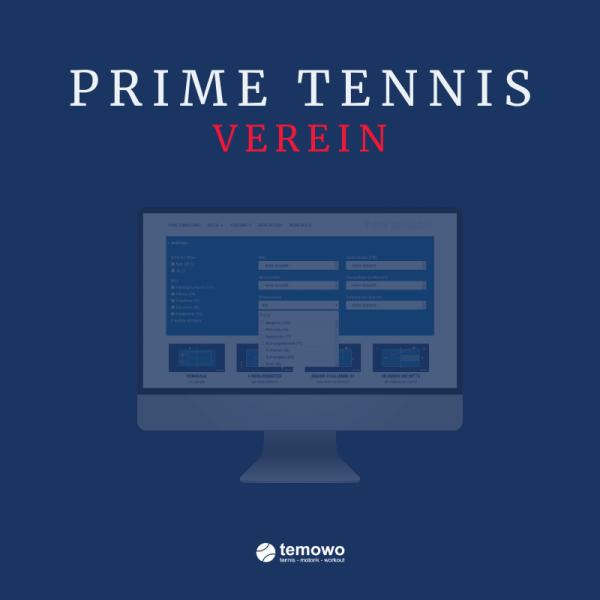 Tennisvereinslizenz Prime Tennis